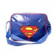 Geanta Superman Logo Blue Messenger Bag