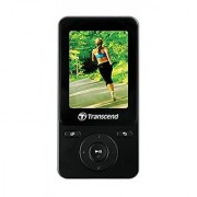 8GB Transcend MP710 Digital Music Player w/ FM Radio G-Sensor Step Counter - Black Edition