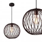 [lux.pro]® Lámpara colgante de diseño - metal - bronce