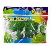PENN PLAX Umelé rastliny Betta10,2cm zelené 6ks sada