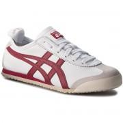 Asics Sneakersy ASICS - ONITSUKA TIGER Mexico 66 D4J2L White/Burgundy 0125