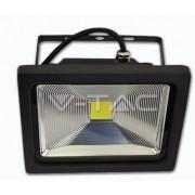 Foco proyector reflector exterior Premium 30w luz CALIDA 3000k graphite