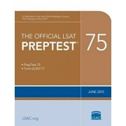 The Official LSAT Preptest 75: June 2015 LSAT, Paperback/Law School Admission Council