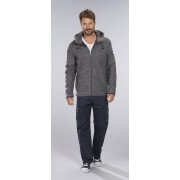 Coastguard Outdoorjacke in Walkfilzoptik, Farbe dunkelgrau, Gr.2XL