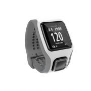 Ceas Sport Smart Watch TomTom Runner Cardio GPS (Alb cu Gri deschis)