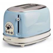 Ariete 155 Toaster Vintage Tostapane A Due Fette Con Pinze Colore Celeste