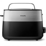 Тостер, Philips Daily Collection, 830W, черен (HD2516/90)