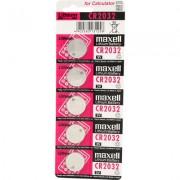 Set 5 Baterii Cr12032 3v Alkaline