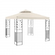 Garden Pavilion - 3 x 3 m - 180 g/m² - cream