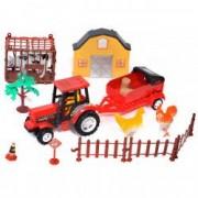 Set joaca ferma tractor animale casa accesorii