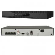 NVR 4 CANALI MAX 8MP 40MBPS USCITA 4K 4 PORTE POE NVR61P-VISSFNVR61044K4P