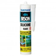 Etanseizant - BISON - Silicon Glass transparent 280 ml
