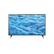 """LG 43UM7100PLB LED TV 43"""" Ultra HD, WebOS ThinQ AI, Ceramic Black, Two pole stand"""