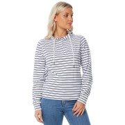 Swell Womens Huxley Ls Hooded Tee Stripe