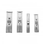 Silver Color Stainless Steel Fold Watch Band Buckle