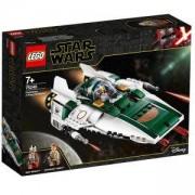 Конструктор Лего Стар Уорс - A-wing Starfighter на Съпротивата, LEGO Star Wars, 75248