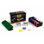 Poker žetóny 200 ks v plechovej dóze