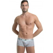 L'Homme Invisible Art Deco Boxer Brief Underwear Pink MY19-ART-066