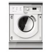 Lavasecadora integrable Hotpoint BIWDHL75128E, lavado 7 kg, secado 5 kg, 1200 rpm, B