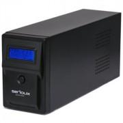 UPS Serioux 800VA, Line Interactive, 800VA/480W, 2 porturi Schuko, RJ45 +USB, carcasa metalica, functie AVR, repornire automata SRXU-800LI (SERIOUX)