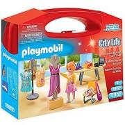 Playmobil 5652 Carrying Case Large Fashion Designer Building Kit