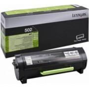 Toner Lexmark 502E Negru 1500 pag