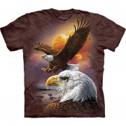 Playera 4d - Unisex 10-3370 Eagle & Clouds