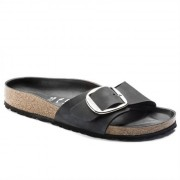Birkenstock Damsandal Madrid Big Buckle Svart