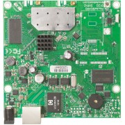 MikroTik MikroTik RouterBOARD 911G with 600Mhz Atheros CPU, 32MB RAM, 1xGigabit LAN, built-in 5Ghz 802.11a/n 2x2 two chain wireless, 2xMMCX connectors, RouterOS L3