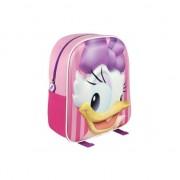 Disney Roze 3D Katrien Duck rugtasje