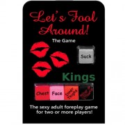 Let's Fool Around Adult Dice Game for Two or More Players
