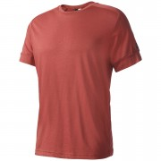 adidas Men's ID Stadium T-Shirt - Mystery Red - S - Mystery Red