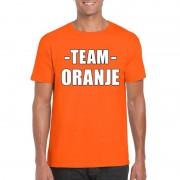 Shoppartners Sportdag team oranje shirt heren
