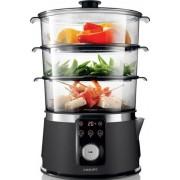 Aparat de gatit cu abur HD9170/91, 1350 W, 9 L, negru