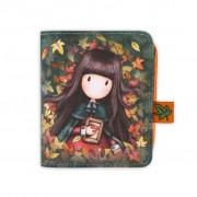Pénztárca Kivehető Mini Erszénnyel- Gorjuss- Autumn Leaves