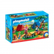 Playmobil Summer Fun 6888 Zeltlager mit LED-Lagerfeuer