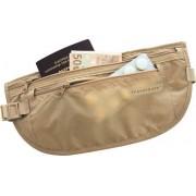 Travelsafe moneybelt lightweight - reisportemonnee - beige - twee ritsen