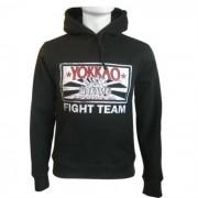 Yokkao Hoodie Fight Team No Zip Svart