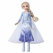 Papusa pentru fetite - Disney Frozen II Elsa cu rochita luminoasa