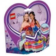 Конструктор Лего Френдс - Лятната кутия с форма на сърце на Emma, LEGO Friends, 41385