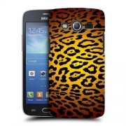 Husa Samsung Galaxy Core 4G LTE G386F Silicon Gel Tpu Model Animal Print Leopard