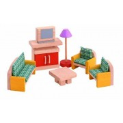 Plan Toys Living Room Doll House Accessories - Neo Modern Style