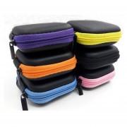 Caja De Auriculares Portátil Mini Plaza Anti-presión - Color Al Azar
