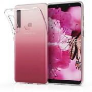 kwmobile Funda Compatible con Samsung Galaxy A9 (2018) Carcasa de TPU para móvil Cover Trasero en Transparente