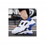 Fiesta casual transpirable calzado deportivo para hombre azul