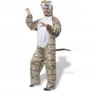 vidaXL Costum de tigru pentru carnaval XL-XXL