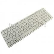 Tastatura Laptop Hp Pavilion 17z-e000 alba cu rama