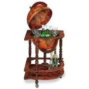 Luxury Corner Bar Globe by Zoffoli Made in Italy