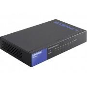 Linksys LGS108 Netwerk switch 8 poorten 1 Gbit/s