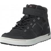 Viking Tonsen Mid Kids Gtx Black/charcoal, Skor, Sneakers och Träningsskor, Höga sneakers, Svart, Grå, Barn, 24